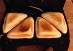 Sandwiches de bizcocho de yougur