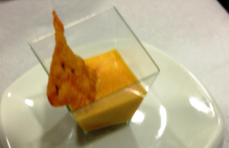 Dip de queso cheddar