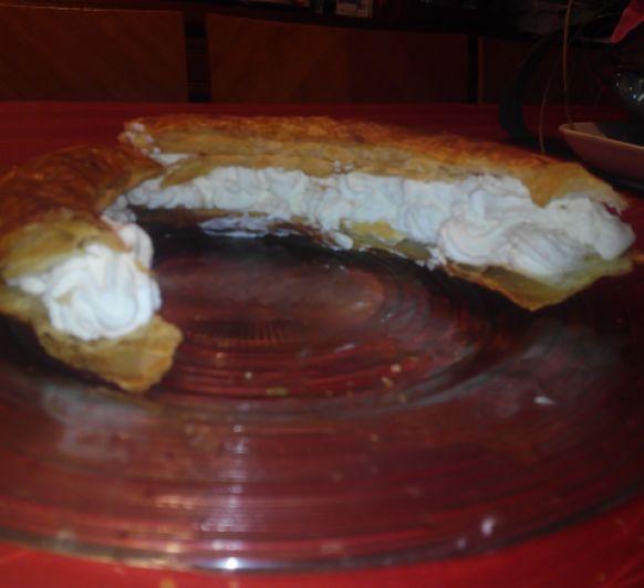 TORTELL DE NATA I CROISSANTETS