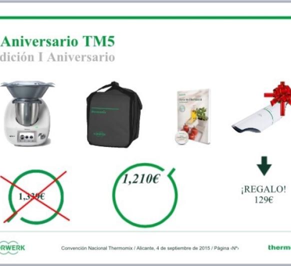 NUEVA PROMOCION 1 ANIVERSARIO TM5