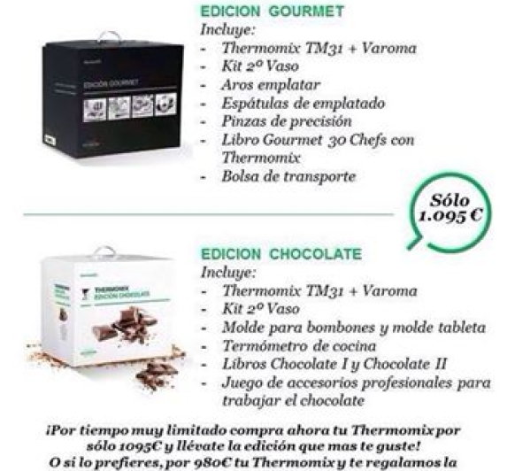 Promoció: Xocolata o Gourmet? Tu què tries?