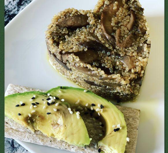Risotto de quinoa amb shiitake amb Thermomix®