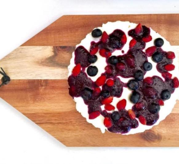 Cheesecake de Mascarpone y Arándanos