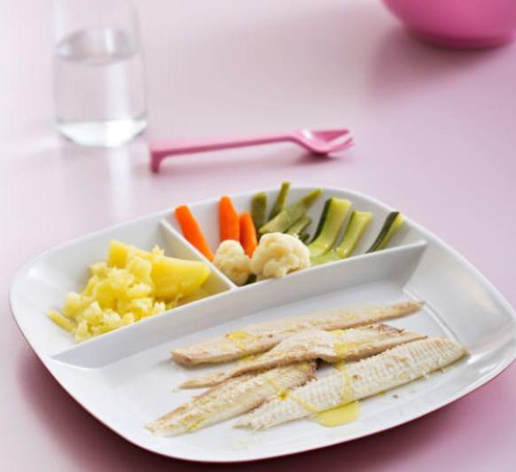 Como hacer lenguado y verduras al vapor de alga kombu con Thermomix®