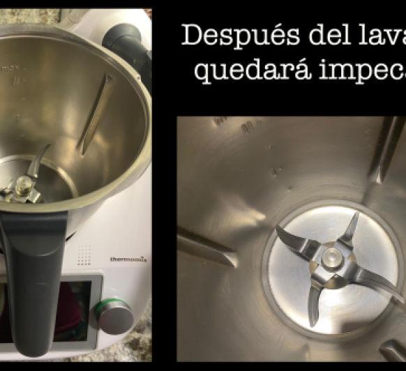 COMO LIMPIAR TU VASO DE Thermomix®