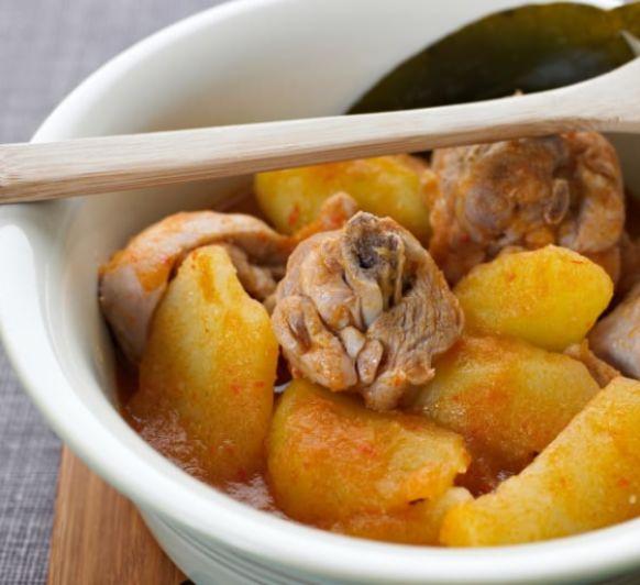 Como hacer una cazuela de patatas con pollo con Thermomix®