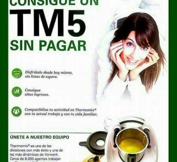 TRABAJA CON NOSOTROS O CONSIGUE TU Thermomix® SIN PAGAR