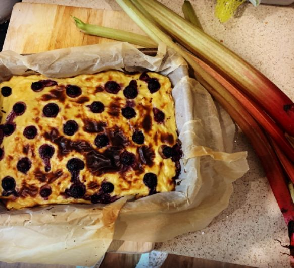Rhubarb tarte with Thermomix®