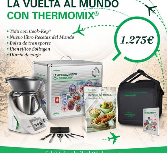 La Vuelta al mundo con thermomix