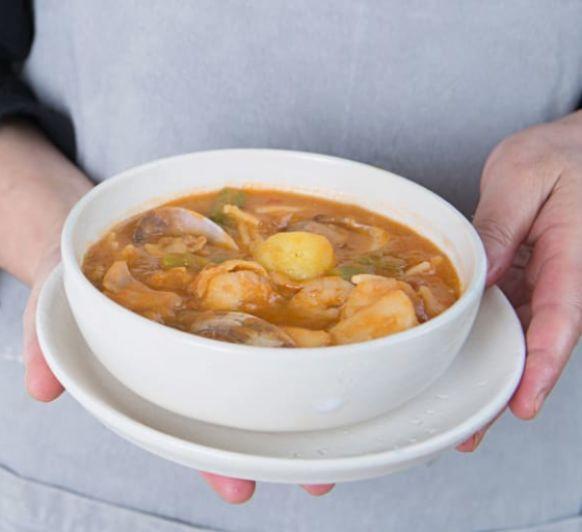 Como hacer sopa marinera con Thermomix®