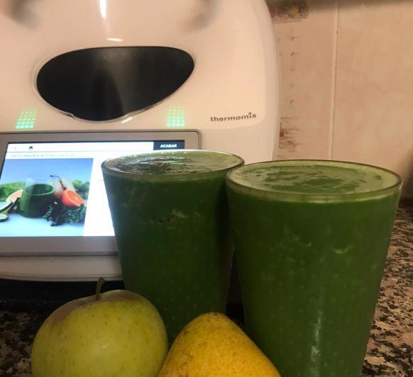 Smoothie de frutas y verduras alimentarse sano en cuarentena!!!!
