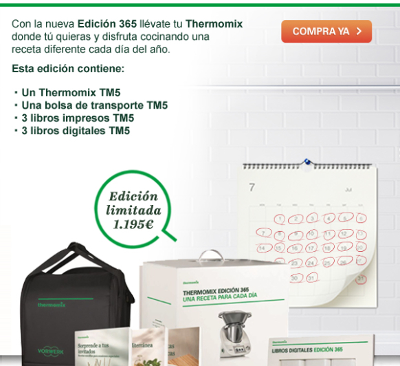 Thermomix® : Nueva Edición 365 días