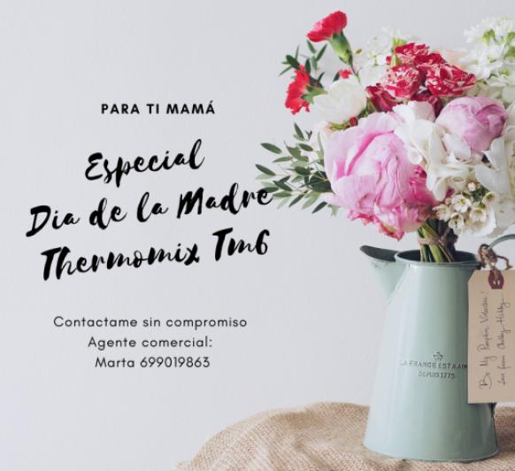 Thermomix® TM6; ESPECIAL DIA DE LA MARE