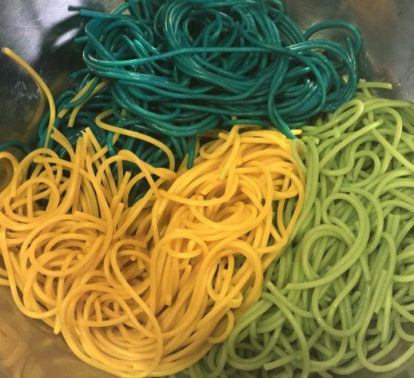 Espaguetis de Colors