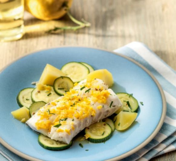 Como hacer bacalao con mantequilla de cítricos con Thermomix®