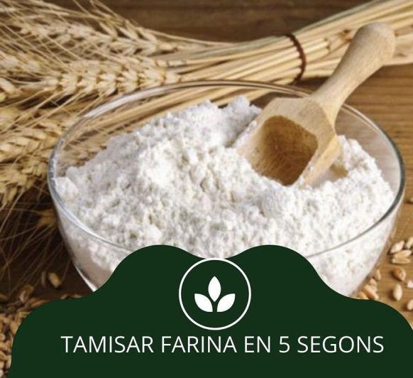 Saps que podem tamisar la farina en el Thermomix® ?