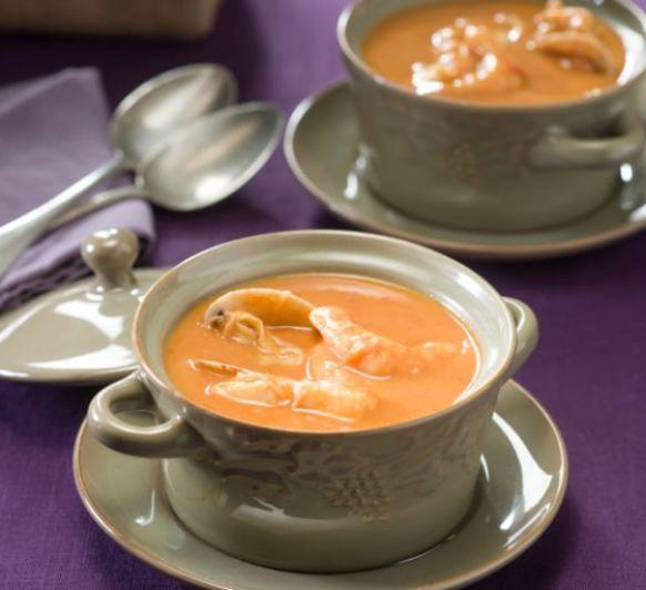 Como hacer sopa de pescado donostiarra con Thermomix®