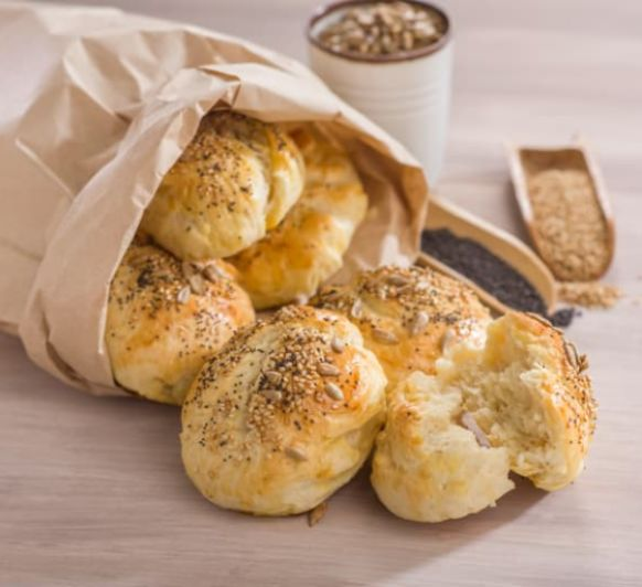 Como hacer panecillos tiernos con queso cremoso con Thermomix®