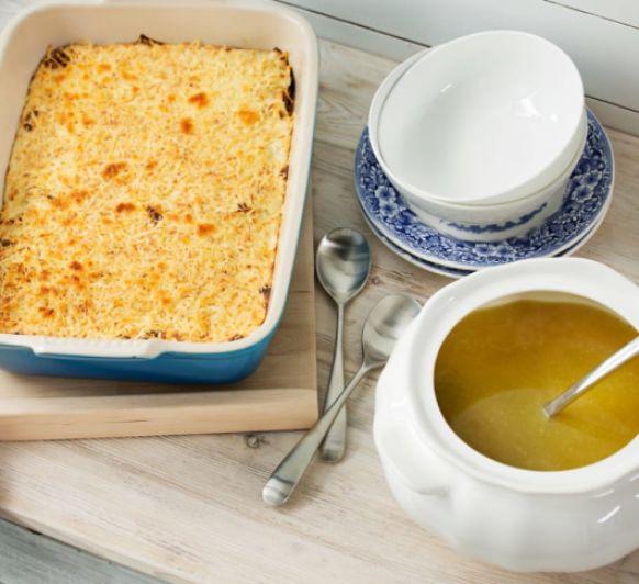 Como hacer menú completo: Sopa de fideos y Canelones de carne con Thermomix®