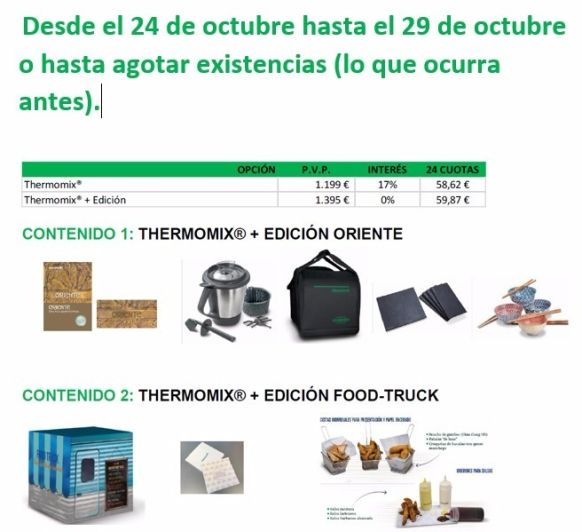 !EDICIIÓ ORIENT I EDICIÓ FOOD TRUCK A 0 % !! ÚLTIMS DIES !!!