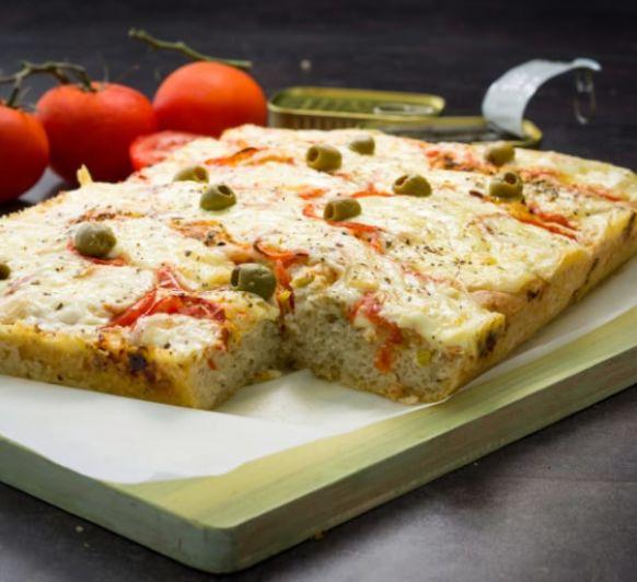Como hacer pizza gorda con masa crujiente con Thermomix®