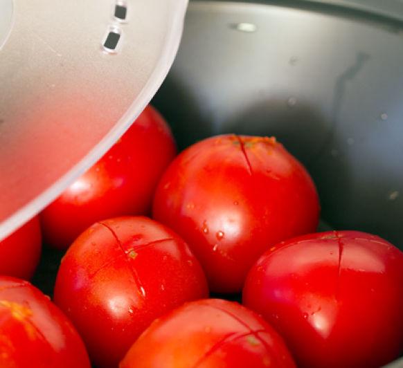 Como escaldar tomates con Thermomix®