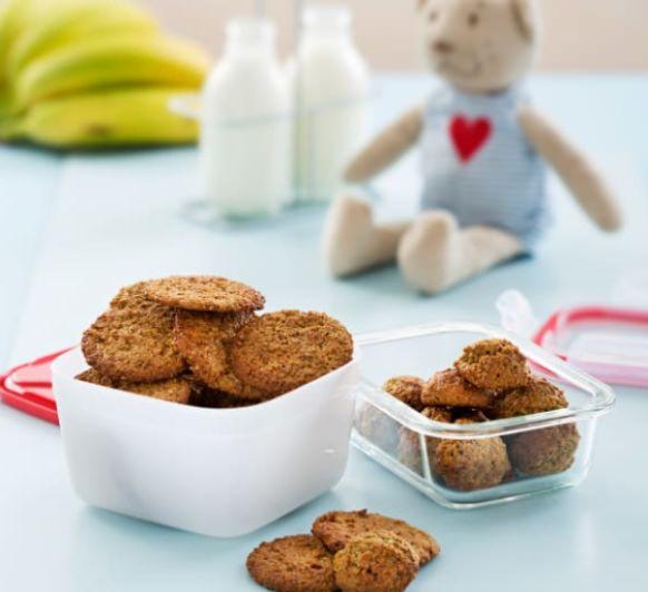 Como hacer galletas de avena y plátano con Thermomix®