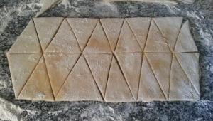 14 de Abril 2014 - Brunyols de triangle de Sant Feliu de Guíxols - Otra variedad de buñuelos